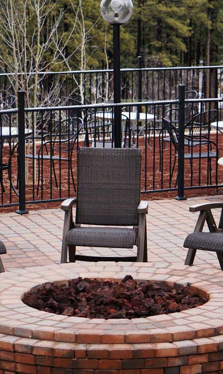 Beautiful Finish Landscaping Inc. Outdoor Fire Pits