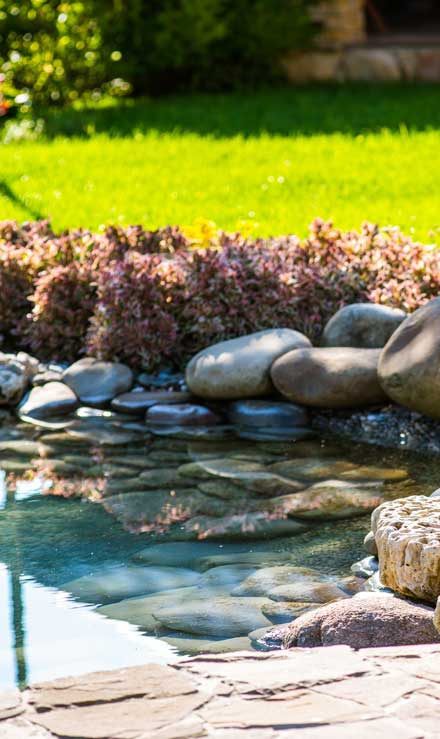 Beautiful Finish Landscaping Inc. Residential Water Features